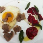 Summer Truffles from France on a Fried Egg