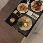 In-Villa Dining - awesome eggs benedict