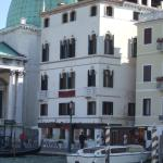 Front of the hotel from on board the Vaporetto