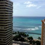 view from Room 1866 Ocean Tower