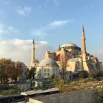 View from my room hagia sophia