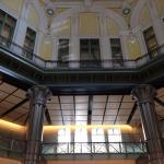 view from train station lobby-look up