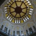 ceiling of the train station lobby-look up