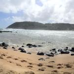 secluded beach 5 min away
