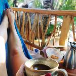 Fresh coffee & pastries enjoyed in a personal hammock each day