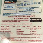 Shuttle service to Kowloon Station