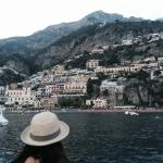 Hotel boat shuttle to downtown Positano