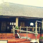 The beautiful lodge and our room