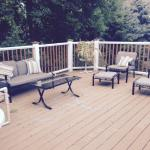 Enjoy the Donian Nature preserve from the Mill Creek Hotel deck