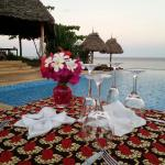 How about a romantic poolside sunset dinner overlooking the ocean at Kasha Boutique Hotel?