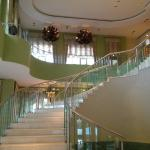 Grand staircase in Iberostar