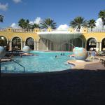 The Clubhouse Pool & Waterfall