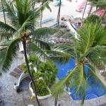 View of pool area at Outrigger