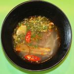 Vietnamese Soup (recipe from Hoi An area)!  We made this at the Cooking Class! Yummm!