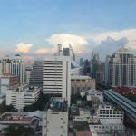 Concrete jungle of Bangkok