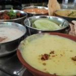 Very clean Restaurant and excellent food - i like the Thali which is served with a yummie desert