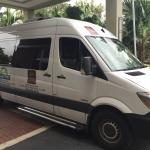 Mercedes airport shuttle
