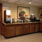 Part of the breakfast area