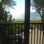 """Jensen's """"On the Gulf"""" View from Porch Penthouse"""