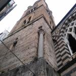 View up to bell tower