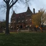 The Pabst Mansion in mid-November.