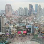 Nanjing road from the 20th floor