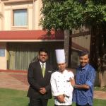 With Antony and Chef Abhijit