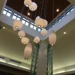 Lights in Lobby