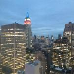 View of Empire State Building from 41st floor