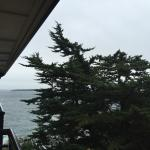 View of ocean from french baloney