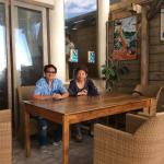 Ariels house, the beachfront cafe