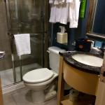 """Tiny bathroom - """"cute"""" according to modern real estate terminology"""