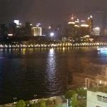 View from my room (of boats on the Pearl River)