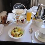 Room service continental breakfast