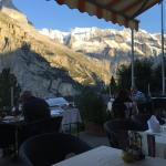 View of Eiger from the Patio