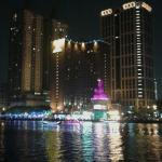 Love River Night View
