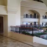 Hotel interior, nice arquitecture and open space