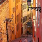 A street in the Old town of Nice