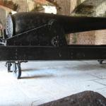 One of the many cannons at the fort