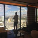 View from north-facing Panoramic Suite (room 5131 on 51st floor)