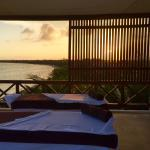 Sunset couples massage on our private deck!