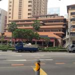 Orchard Road, a nearby hotel