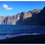 Los Gigantes beach early in the morning