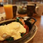Egg Benedict at Farmer's table