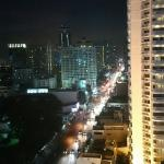 night view from room - Level 16