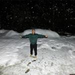 Snow at 2 am on 2nd Jan, 15