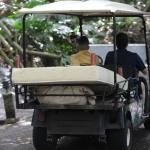 More golf carts than rainforest in this place