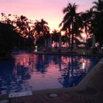 pool at sunset 2