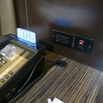 Charge points bedside
