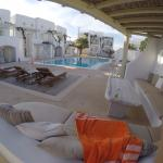 View from pool deck/main level rooms